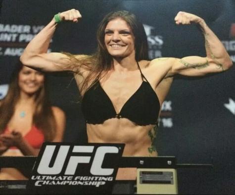 Lauren Murphy first official UFC weigh-In