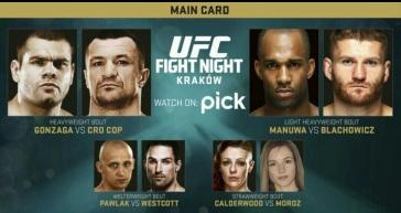 Fight Night Krakow Free on PICK TV