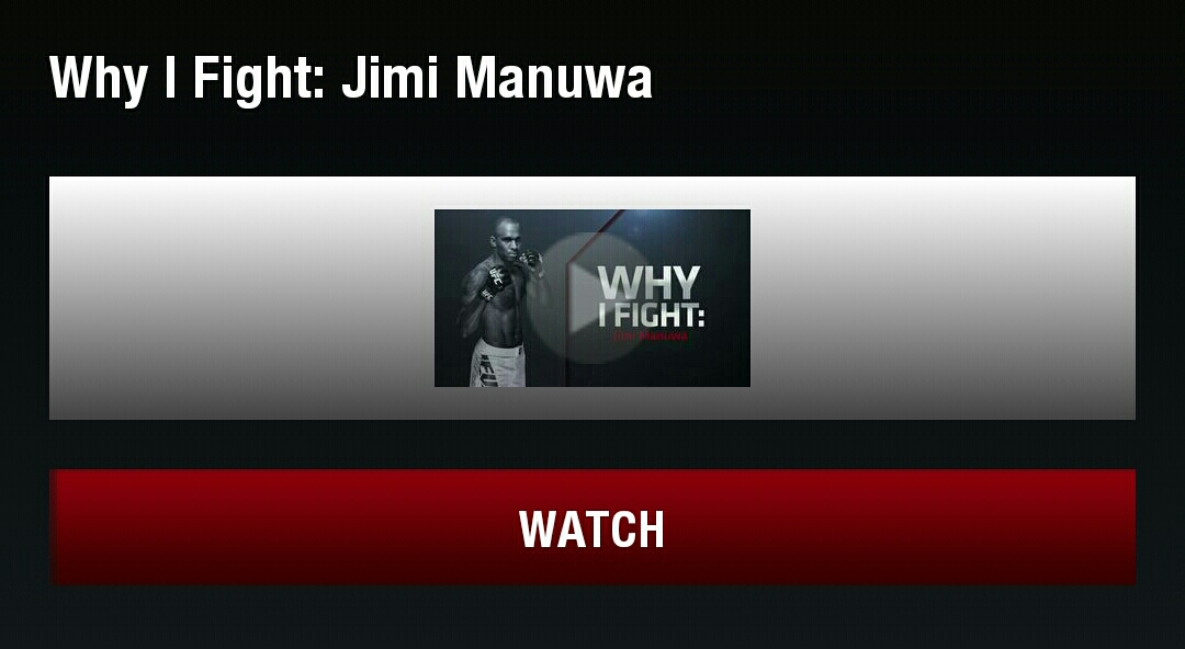 Fight Night Krakow: Why I Fight – Jimi Manuwa