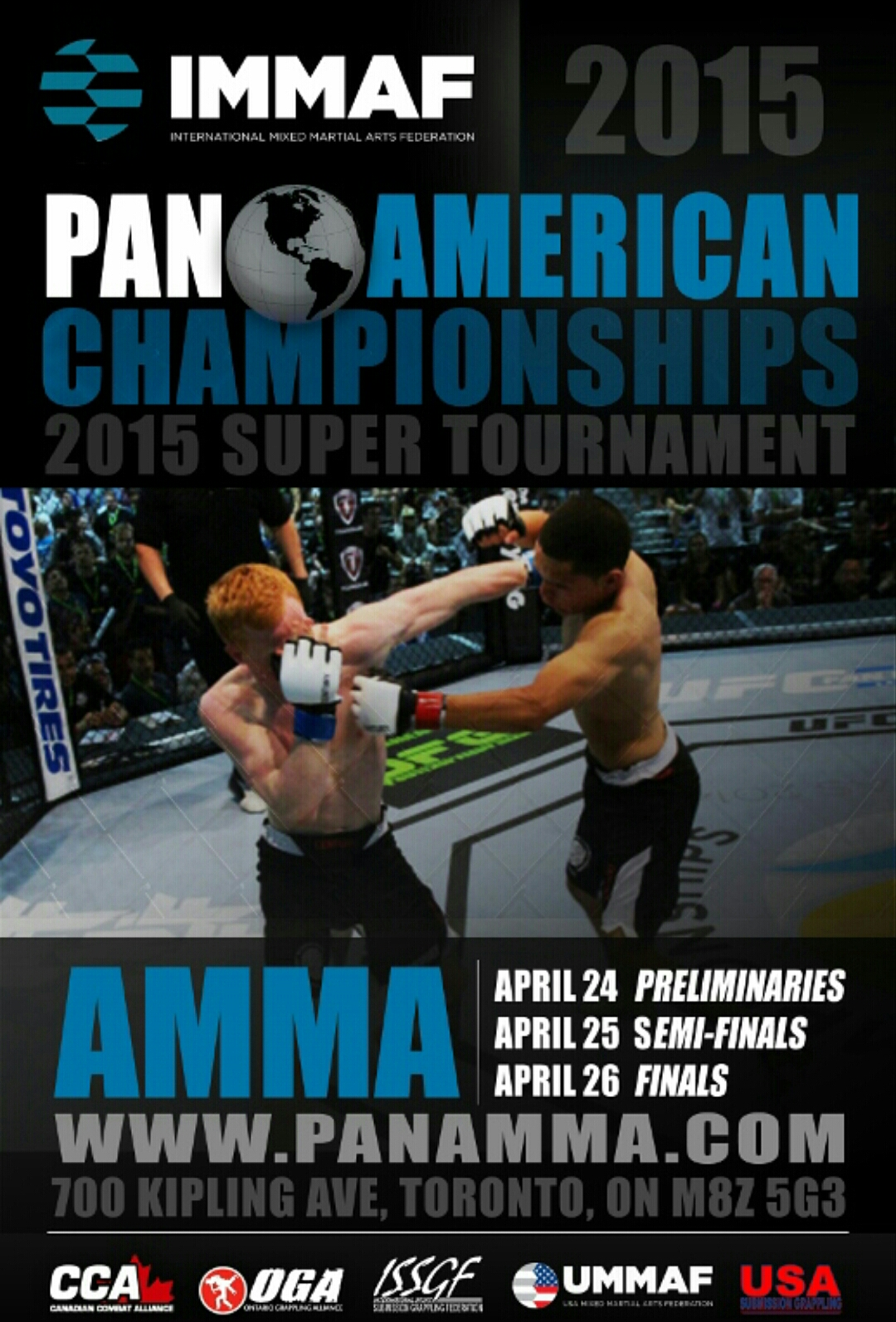 Last Chance to Apply for IMMAF Pan American Championships of Amateur MMA