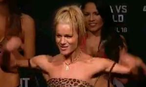 Felice Herrig UFC Fight Night New Jersey Weigh In