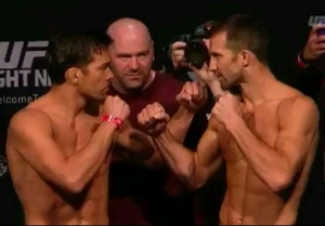 Lyoto Machida vs. Luke Rockhold UFC Fight Night New Jersey Face off