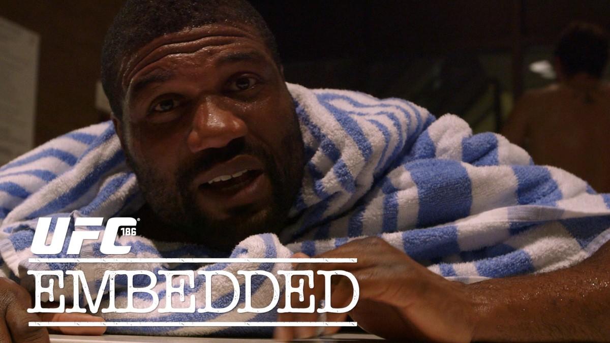 UFC 186 Embedded: Vlog Series – Episode3
