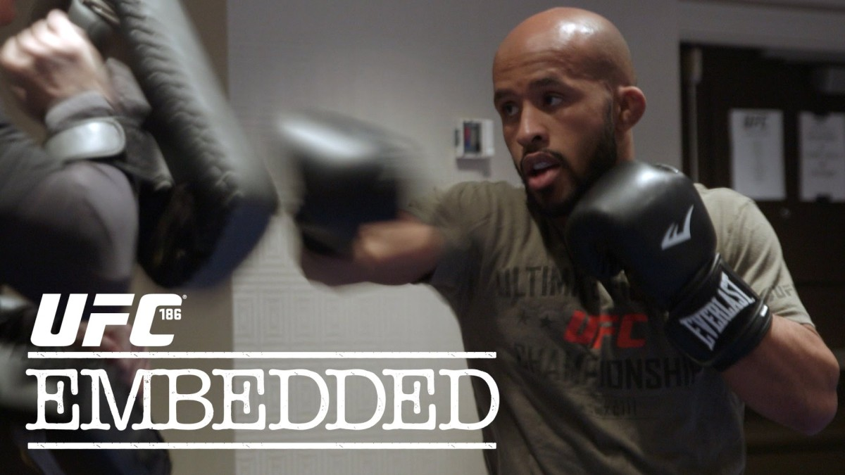 UFC 186 Embedded: Vlog Series – Episode 2