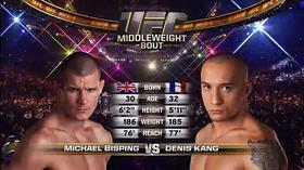 UFC 186 Free Fight: Michael Bisping vs. Denis Kang