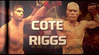 UFC 186 Prelims: Cote vs. Riggs