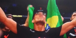 Winner Charles Oliveira UFC Fight Night 67 Goiania