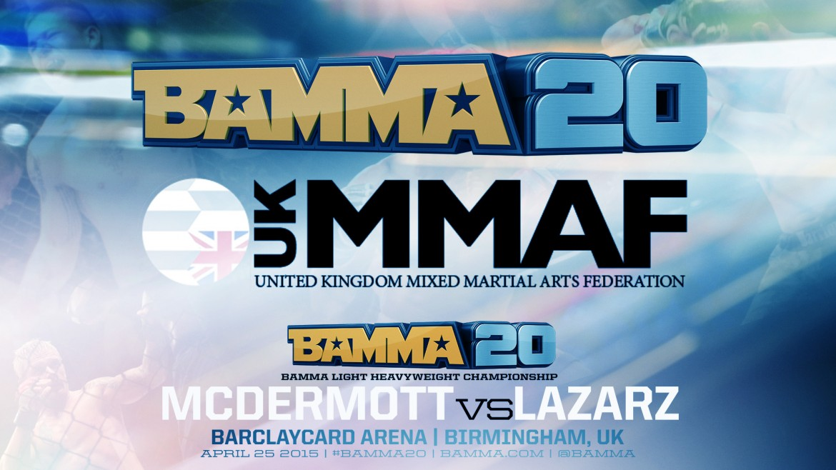 BAMMA 20 Official Full Fight Results April25th