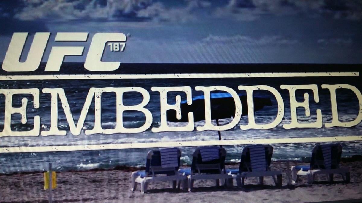UFC 187 Embedded, Episode 1: 'Lean, Mean, Fighting Machine' AnthonyJohnson