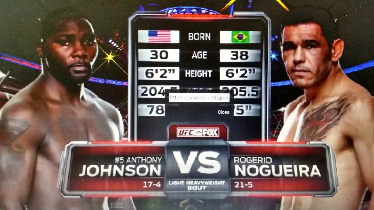UFC 187 Free Fight: Anthony Johnson vs. Antonio RogerioNogueira