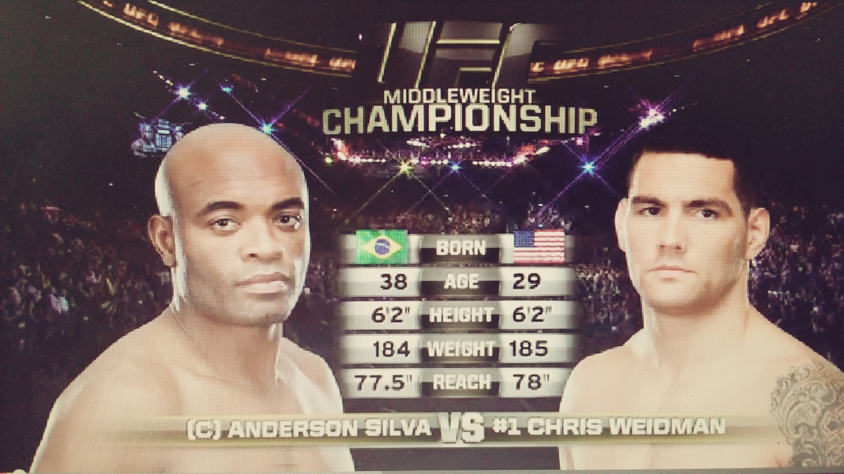 UFC 187 Free Fight: Chris Weidman vs. AndersonSilva