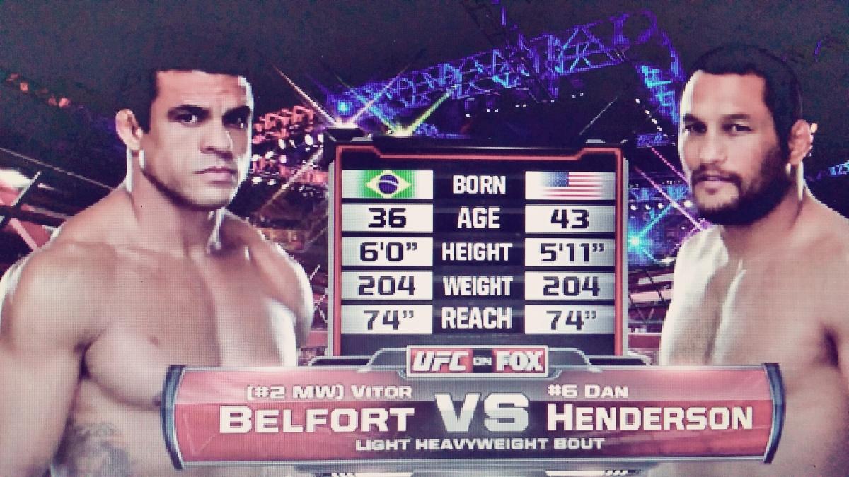 UFC 187 Free Fight: Vitor Belfort vs. DanHenderson