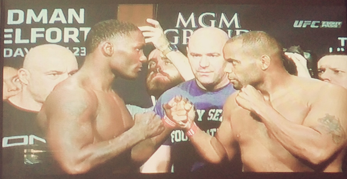 UFC 187 Weigh-In Results: Cormier 205 lbs vs. Johnson 204.5 lbs