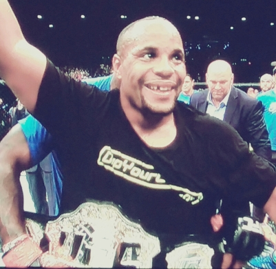 New UFC Light Heavyweight World Champion UFC 187 Daniel Cormier