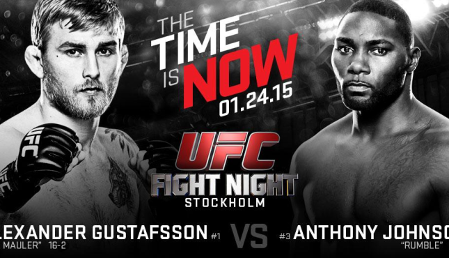 UFC 187 Free Fight: Anthony Johnson vs. Alexander Gustafsson