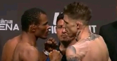 Francisco Trinaldo vs. Norman Parke Face Off UFC Fight Night Goiania
