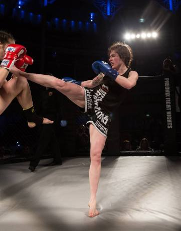 Bryony Tyrell (c) Daniel Rose at Phoenix Fight Night