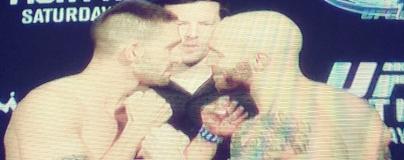Justin Edwards vs Joe Proctor Face Off UFCNOLA