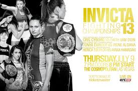 Invicta FC 13 Full Results: Cyborg dominates Van Duin in 45 seconds to retain the Featherweight Title
