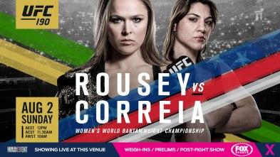 Rosey v bethe poster#UFC190