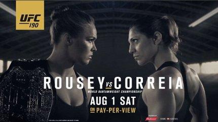 Rousey vs Correia Countdown to UFC 190
