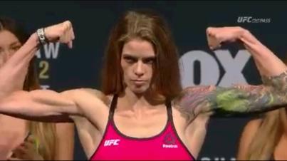 Jessamyn  Duke  #UFConFOX16