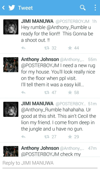 Twitter screen shot Anthony rumble v him manuwa
