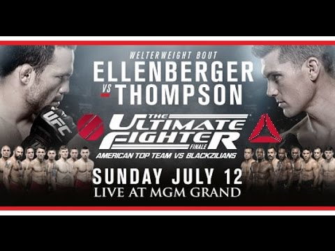 The Ultimate Fighter Finale 21 Official Weigh-In Results: Ellenberger 170.5 lbs  Thompson 170.5 lbs