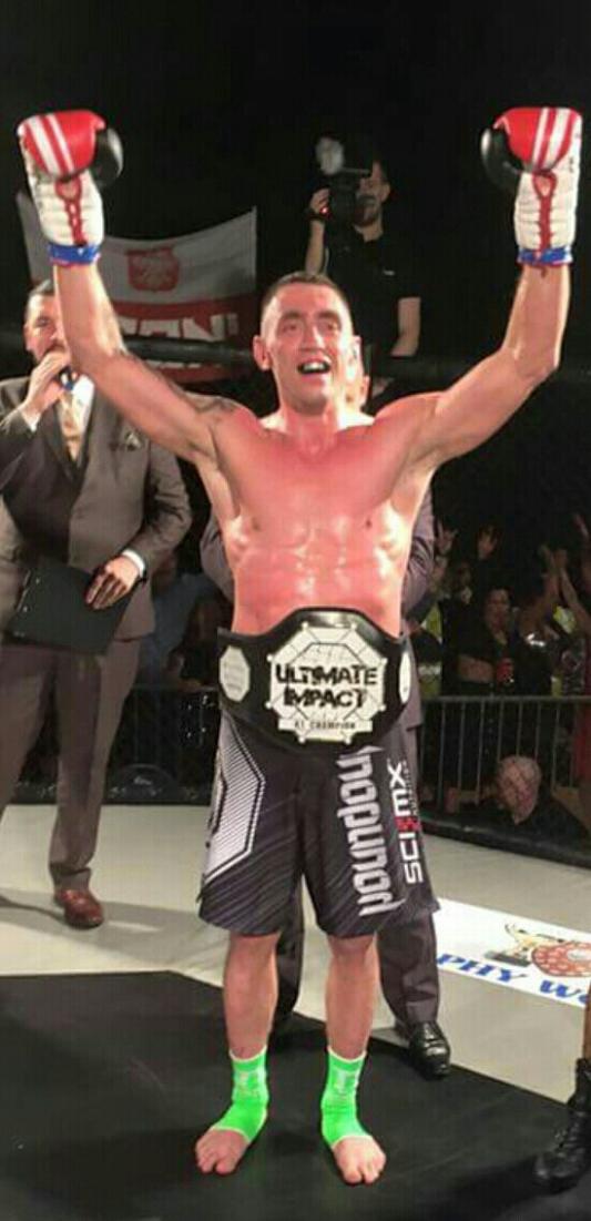 'Iron' Piotr Ptasinski New UIC 16 Middleweight K1 Champion
