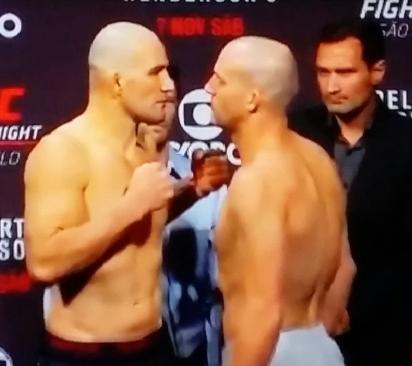 Patrick Cummins vs Glover Teixeira UFC Fight NIght 77 Sao Paulo