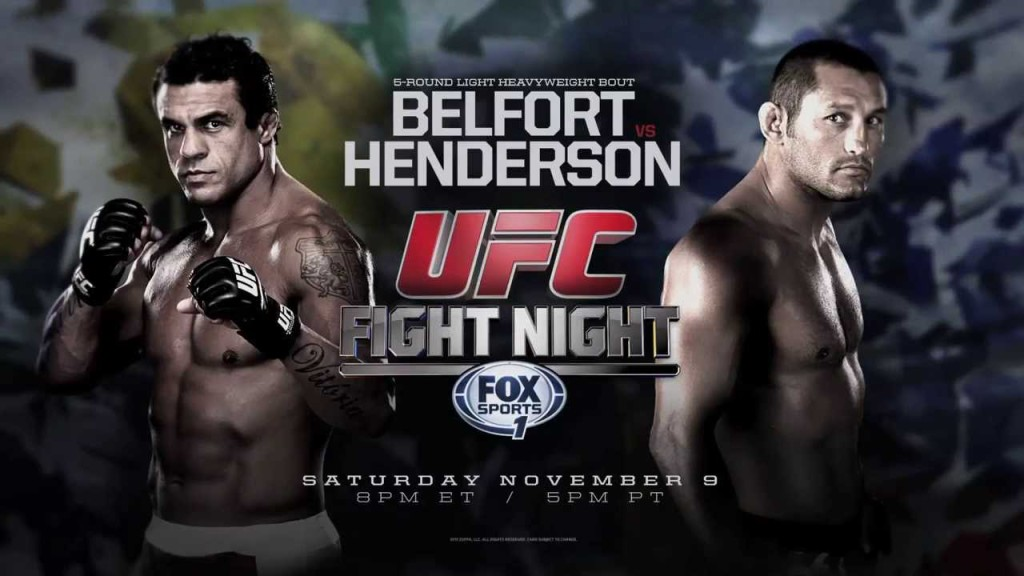 UFC Fight Night 77 Sao Paulo Weigh-in results: Dan Henderson 186 lbs  Vitor Belfort 185 lbs