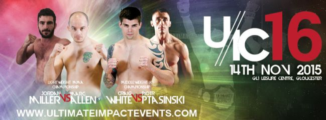 Ultimate Impact Championship 16 returns at GL1 Leisure centre in Gloucester this Saturday, November 14th