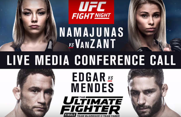 UFC Fight Night Las Vegas & Ultimate Fighter Finale Media Conference Call