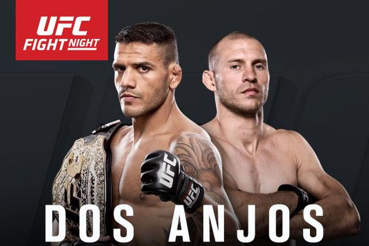 UFC on FOX 17: Dos Anjos 154.5 lbs, Cerrone 154.5 lbs Weigh-inResults