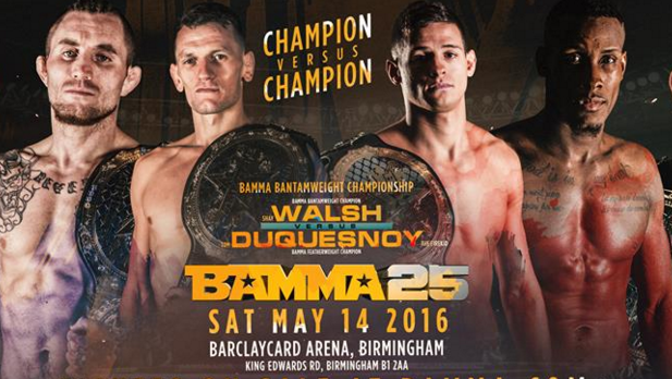 BAMMA 25 Champion vs Champion Full Results