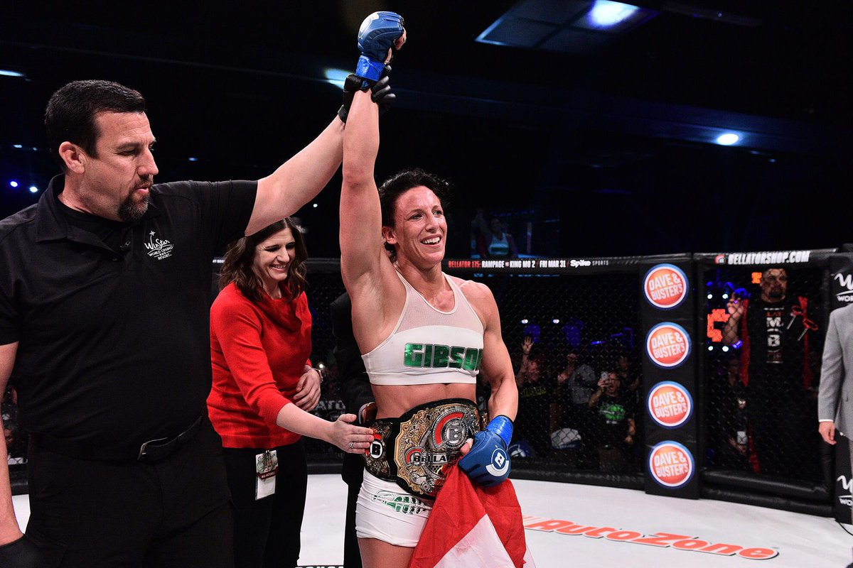 JULIA BUDD DEFEATS MARLOES COENEN TO BECOME BELLATOR WOMEN'S INAUGURAL FEATHERWEIGHT CHAMPION