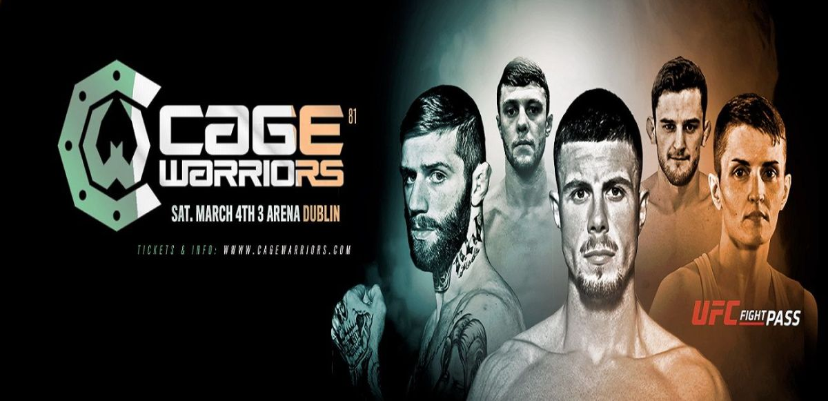 Cage Warriors 81 – Full Results