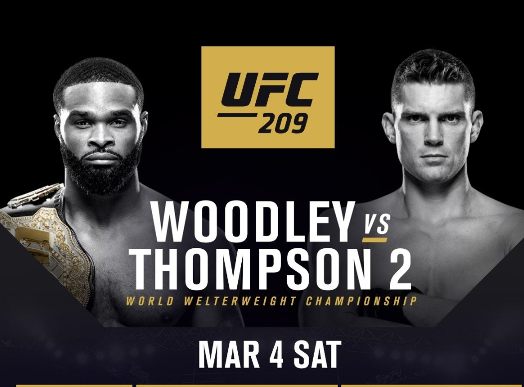 UFC 209 Full Results