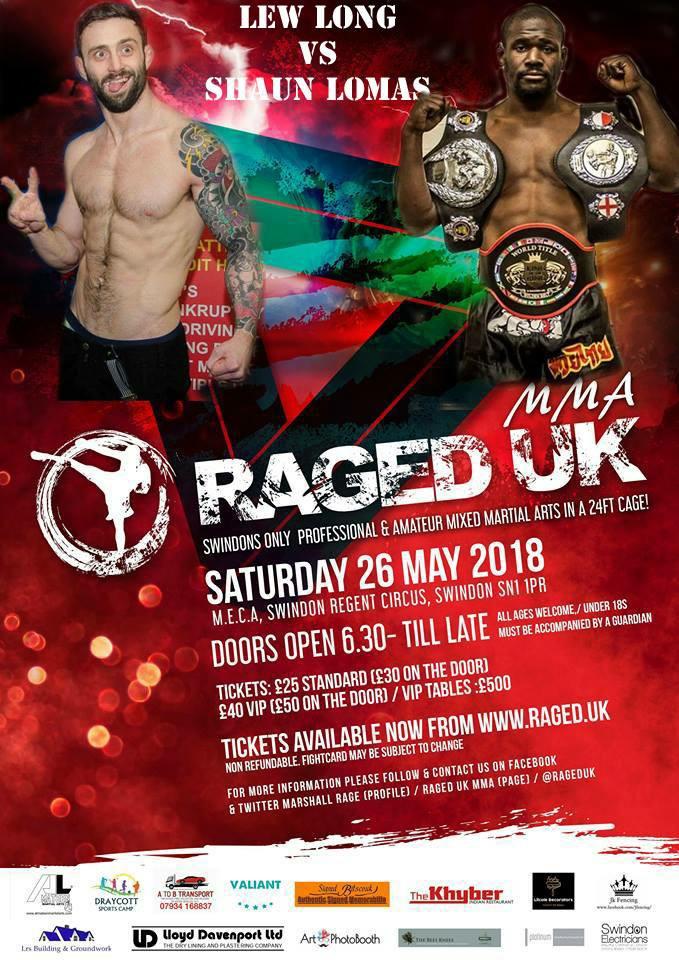 Raged 8 poster