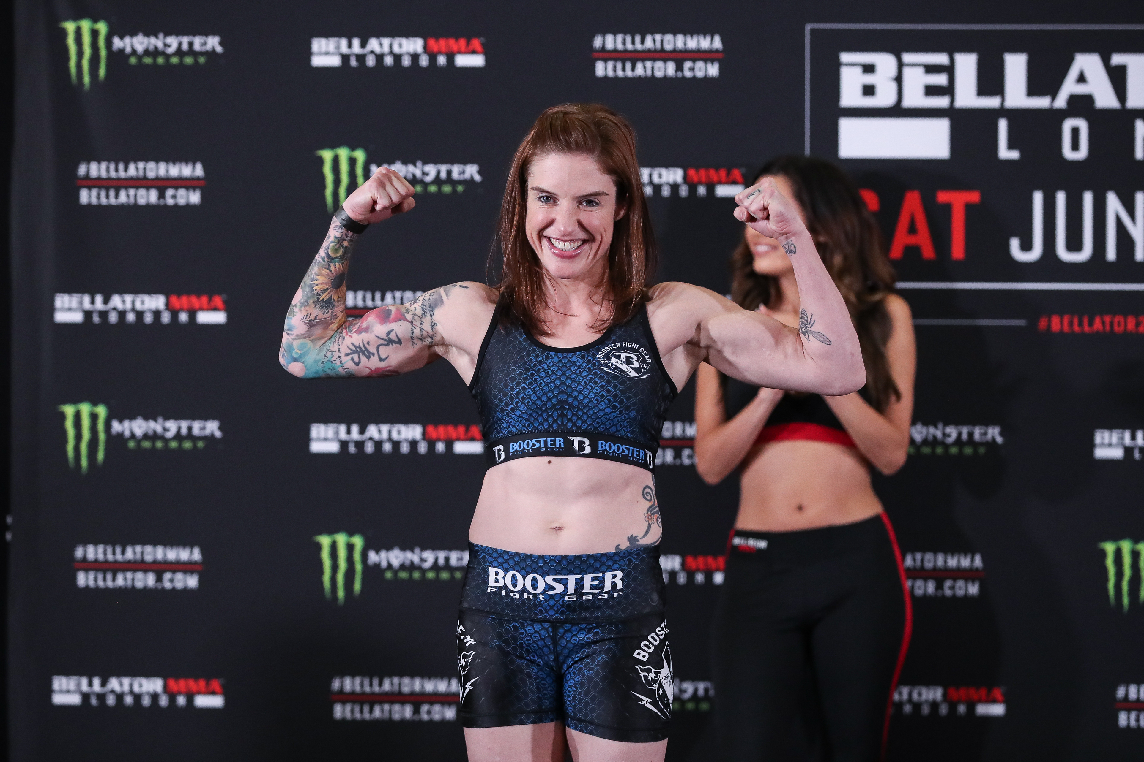 Bryony Tyrell  - BELLATOR weigh-in - Credit: Bellator