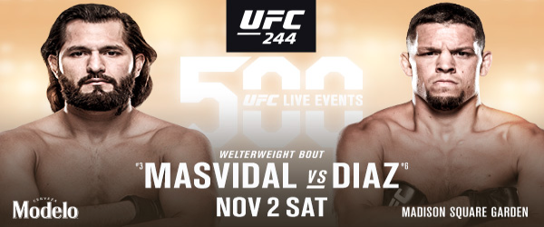 Who will be The Baddest Motherf*cker – Diaz vs Masvidal UFC 244?